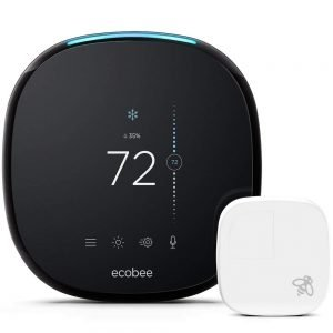 Ecobee 4 Alexa enabled smart thermostat