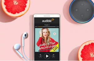 Audible subscription Echo Dot